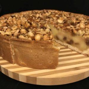 Bakkerij van eigen deeg - Appel-notentaart - appelnotentaart